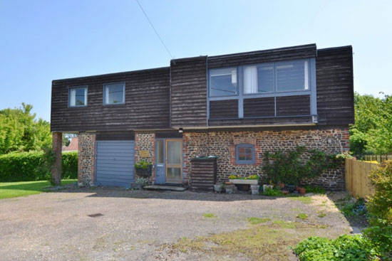 In need of renovation: 1960s barn conversion in Graffham, Near Petworth, West Sussex