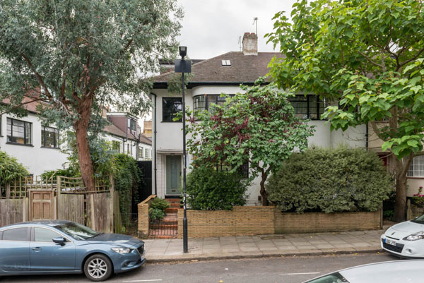 1930s art deco house in London NW3