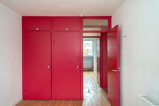 1950s duplex apartment in Bowater House on the Golden Lane Estate, London EC1Y