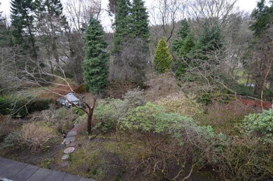1970s modernist property in Bearsden, East Dunbartonshire, Scotland