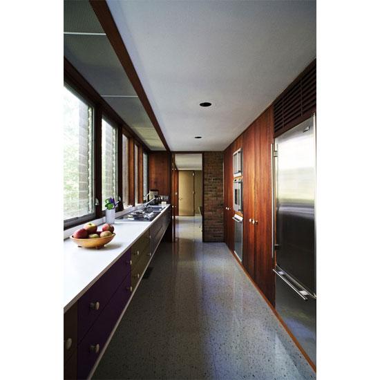 1950s George Nelson-designed midcentury modern property in Kalamazoo, Michigan, USA