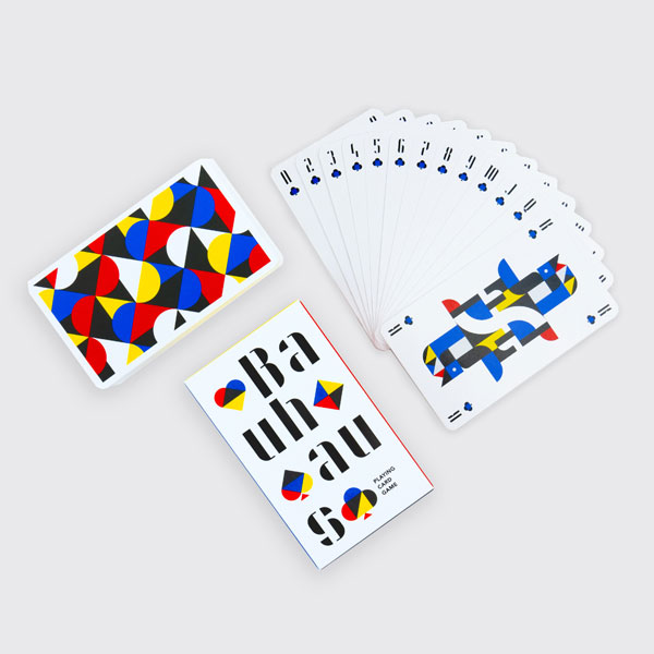 12. Bauhaus playing cards by Cinqpoints