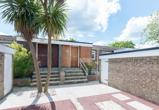 On the market: 1960s Austin Vernon & Partners townhouse on the Dulwich Estate, London SE19