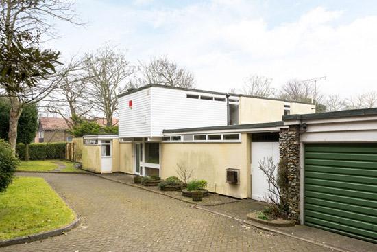 1960s Gerald Beech-designed modernist property in Broadstairs, Kent