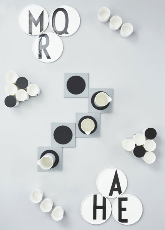 13. Design Letters range by Arne Jacobsen