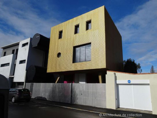 Christophe Lab-designed Golden House in Nantes, western France