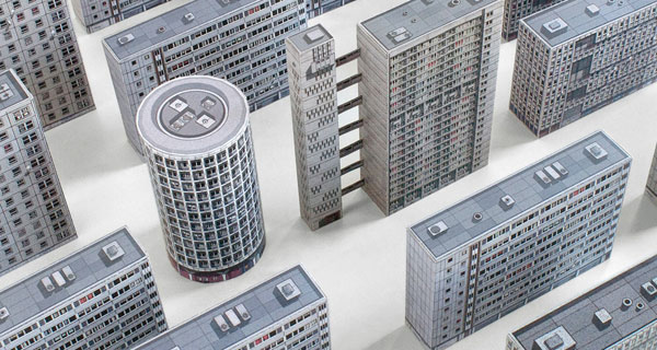 14. Build your own brutalist city with Zupagrafika