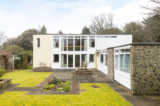 1960s Gerald Beech-designed modernist property in Broadstairs, Kent