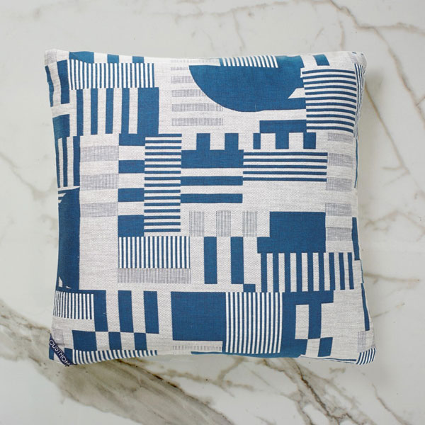 20. Hayward Gallery woven day cushions by Custhom