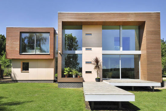 Grand Design for sale: Three-bedroom contemporary modernist property in Southwick, Cambridgeshire