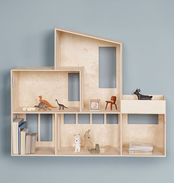 26. Funkis house shelf by Ferm Living