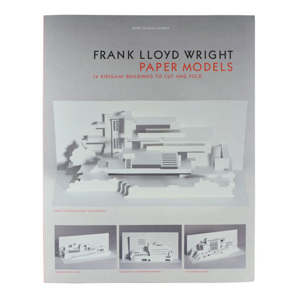 27. Frank Lloyd Wright Paper Models by Marc Hagan-Guirey