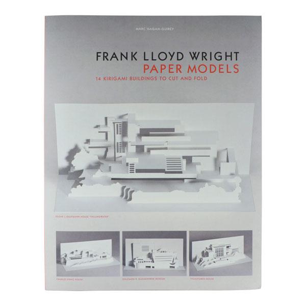 27. Frank Lloyd Wright Paper Models by Marc Hagan-Guirey