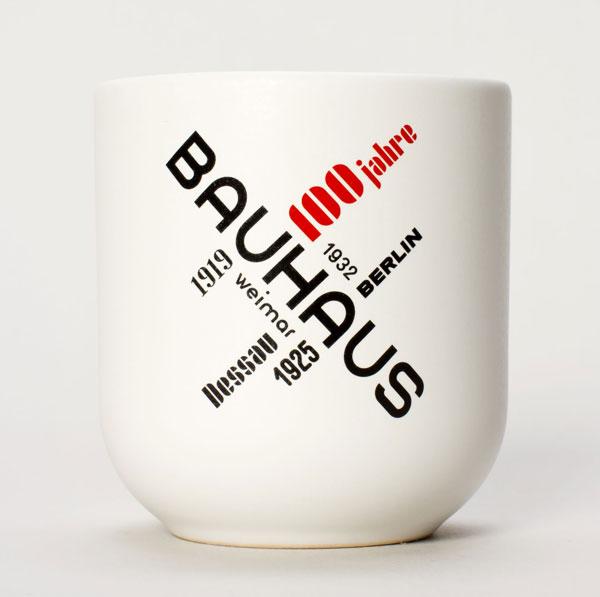 29. Bauhaus 100 mug by Becher