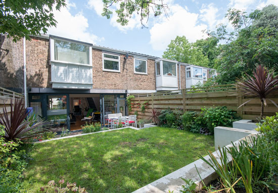 1960s Austin Vernon & Partners townhouse on the Dulwich Estate, London SE19