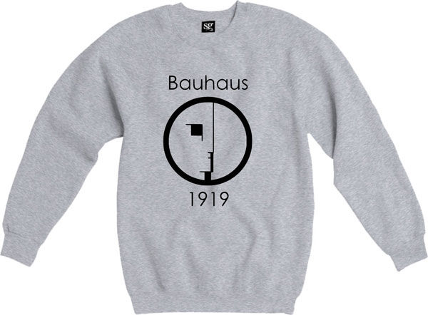39. Bauhaus 1919 sweatshirt by London T-shirt Company