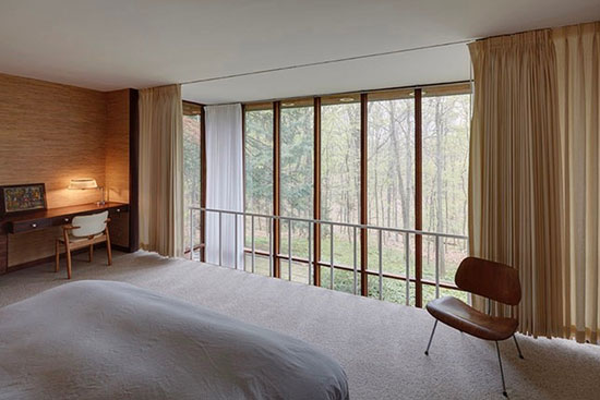 1950s George Nelson-designed midcentury modern property in Kalamazoo, Michigan, USA