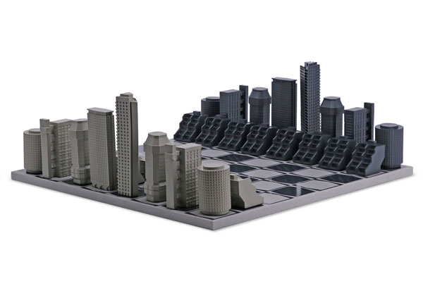 43. London Brutalist Edition Chess Set by Skyline Chess