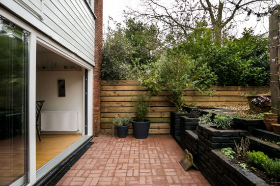 1960s midcentury townhouse in London SE23