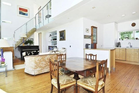 Three-bedroom contemporary modernist property in Southwick, Cambridgeshire