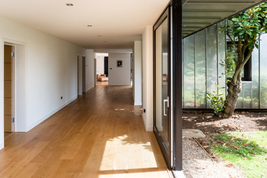 Remodelled 1960s Eashing House in Godalming, Surrey
