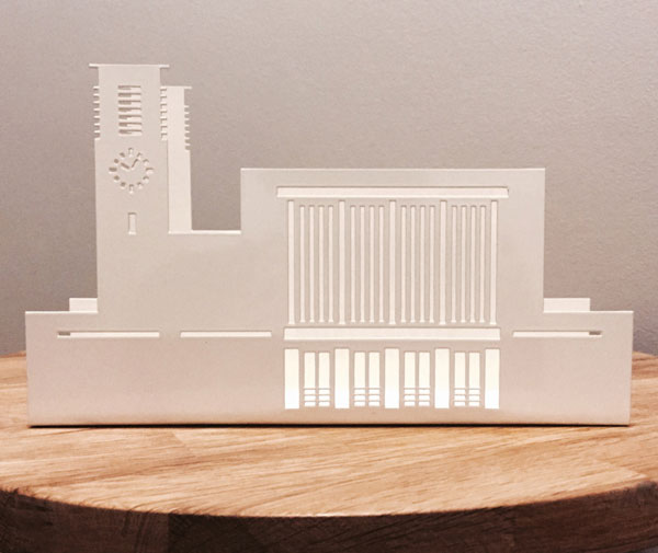 6. Architectural letter holders by Wilhon Design