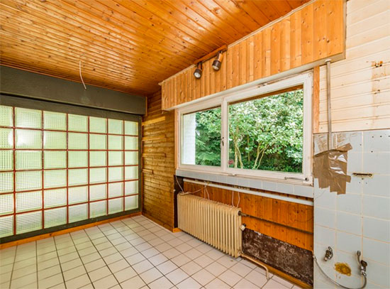 1960s midcentury renovation project in Wermelskirchen, Germany