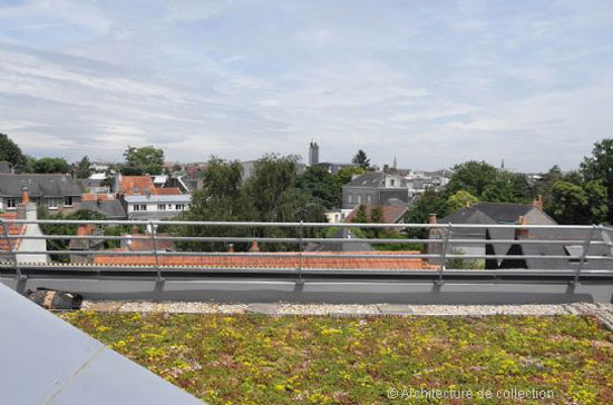 Christophe Lab-designed Golden House in Nantes, western France