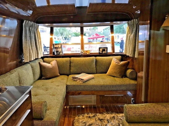 Midcentury mobile home: 1961 Holiday House Geographic on eBay