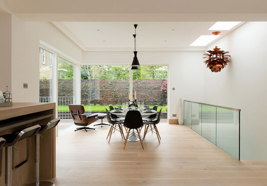 The Garden House contemporary modernist property in Wandsworth, London SW17