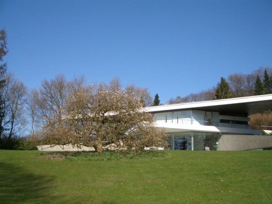 1960s Professor Peter Neufert-designed modernist property in Essen-Bredeney, North Rhine-Westphalia, Germany