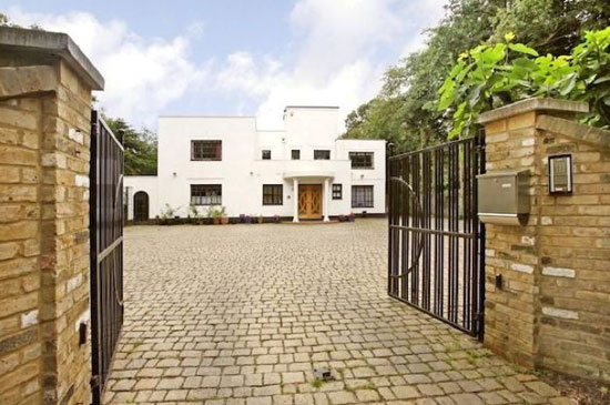 On the market: 1930s five-bedroom art deco property in Gerrards Cross, Buckinghamshire