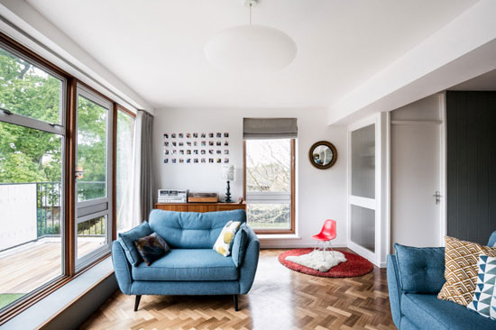 1960s modernism: Austin Vernon & Partners-designed townhouse in Giles Coppice, London SE19