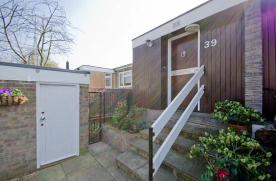 On the market: 1960s Austin Vernon-designed three-bedroom townhouse in Giles Coppice, London SE19