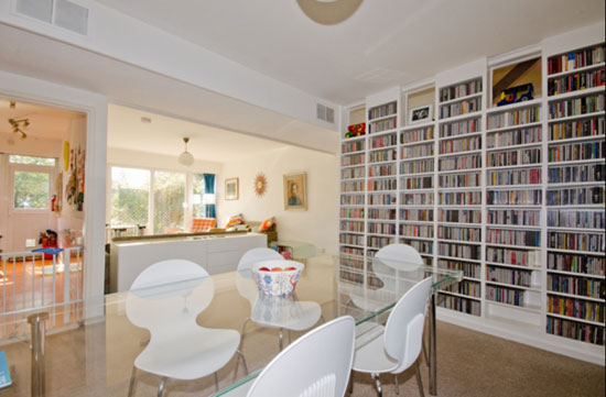 On the market: 1960s Austin Vernon & Partners-designed three-bedroom townhouse on the Dulwich Estate, London SE19