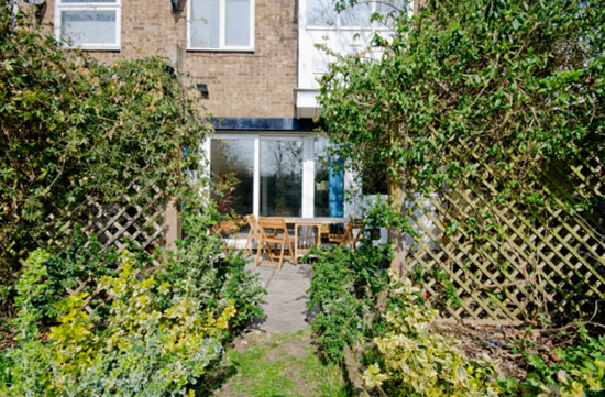 1960s Austin Vernon-designed three-bedroom townhouse in Giles Coppice, London SE19