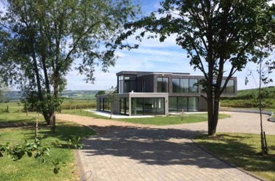 On the market: Contemporary modernist property in Teddington, Gloucestershire