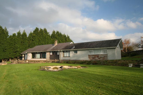 1960s three bedroom detached bungalow in Blantyre, near Glasgow, South Lanarkshire