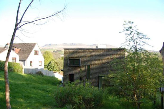 Studio KAP-designed 5 Printers Row in Balfron, near Glasgow, Stirlingshire