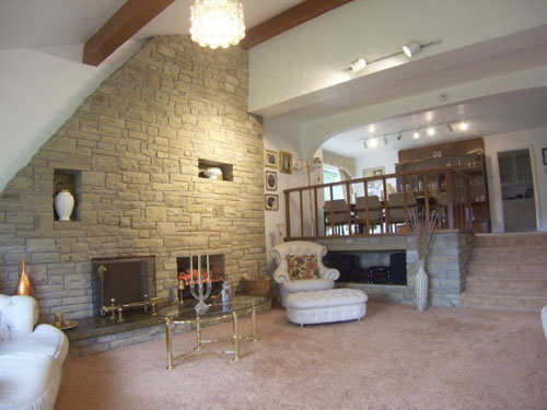 1970s five-bedroomed house in Glossop, Derbyshire