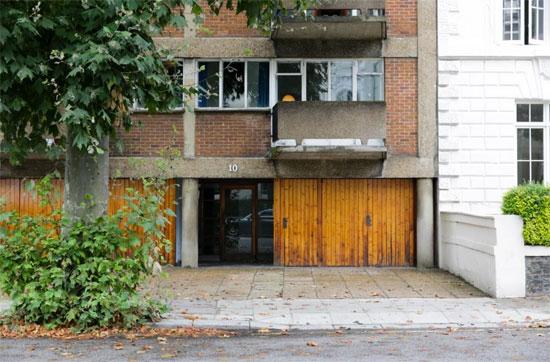 On the market: 1950s Erno Goldfinger-designed modernist apartment in Primrose Hill, London NW1
