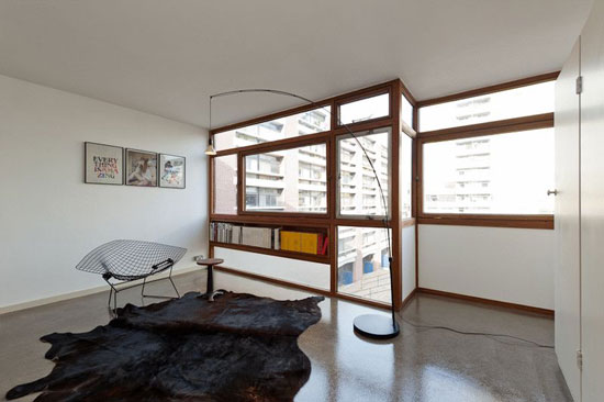 One-bedroom flat in the 1950s Golden Lane Estate, London EC1Y