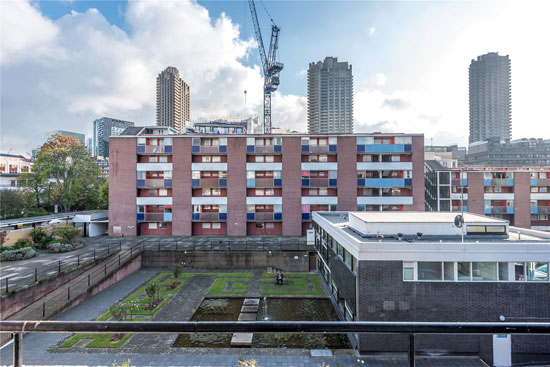 Apartment in Bayer House on the Golden Lane Estate, London EC1Y