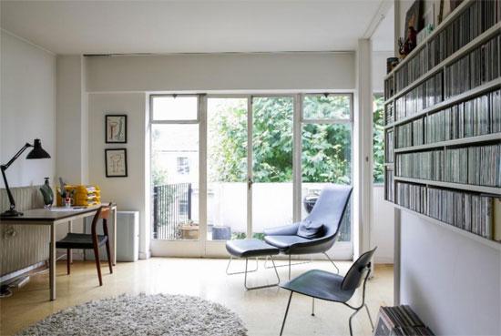 1950s Erno Goldfinger-designed modernist apartment in Primrose Hill, London NW1