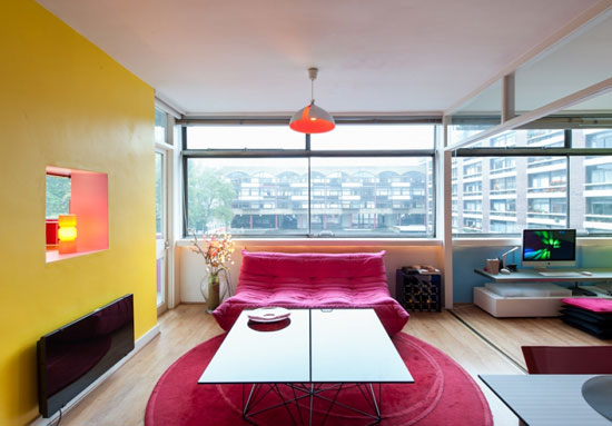 On the market: One bedroom apartment in the 1950s modernist Golden Lane Estate, London EC1