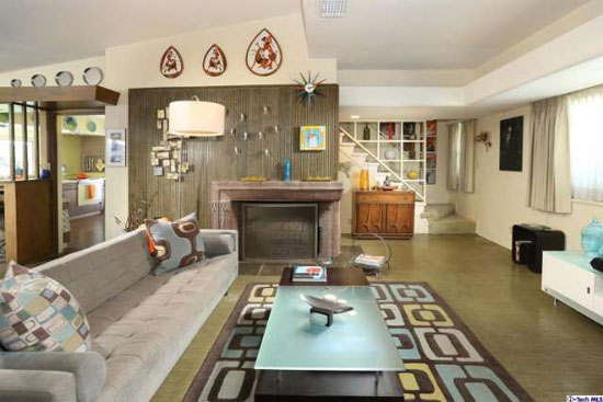 1950s Googie-inspired property in Glendale, California, USA