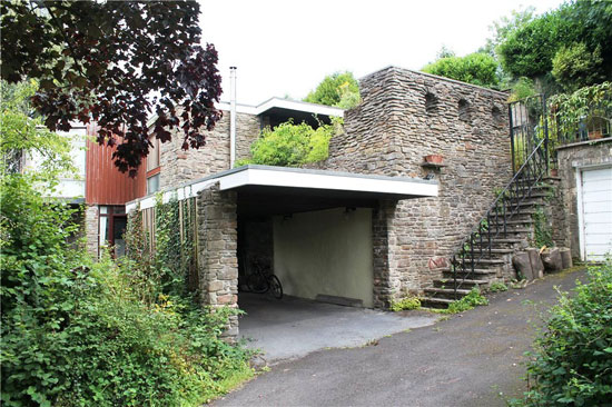 On the market: Space One 1960s modernist property in Clapton in Gordano, North Somerset