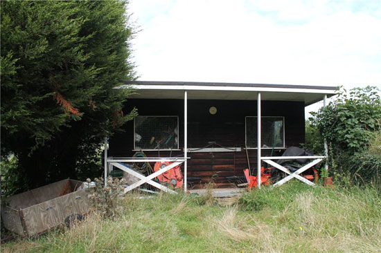 Space One 1960s modernist property in Clapton in Gordano, North Somerset