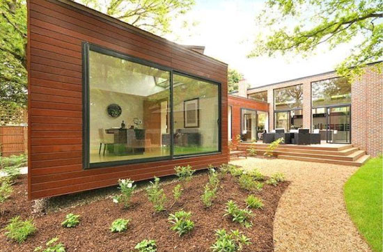 Michael Crowley-designed contemporary modernist property in Grove Park, London SE5