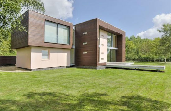 Grand Design for sale: Longwood House contemporary modernist property in Southwick, Northamptonshire